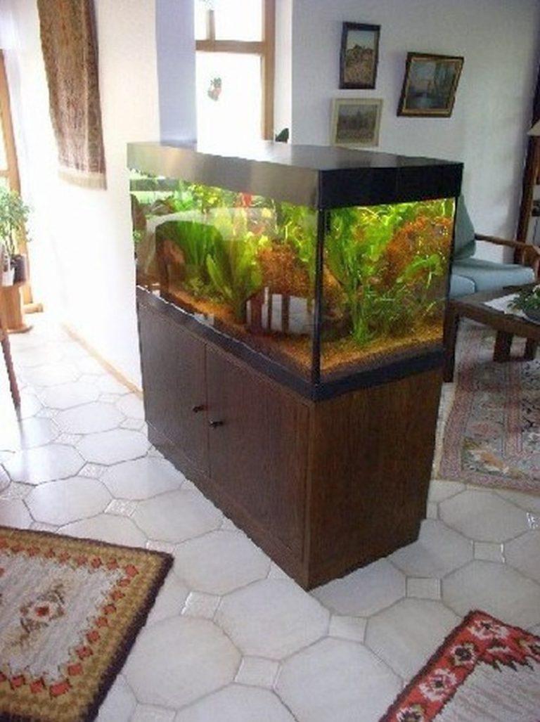Aquarium-Unterbau